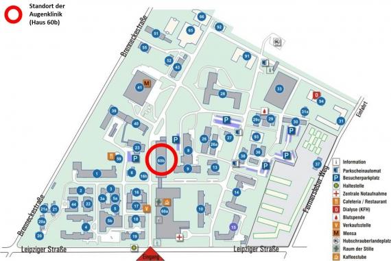 Universitätsaugenklinik So Finden Sie Uns